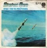 What You're Proposing - Status Quo