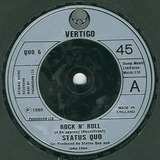 Rock N' Roll / Hold You Back / Backwater - Status Quo