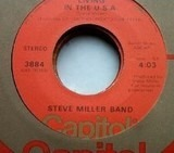 Living In The U.S.A. / Kow Kow Calqulator - Steve Miller Band