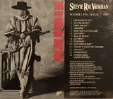 October 3, 1954 - August 27, 1990 - Stevie Ray Vaughan & Double Trouble