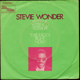 Yester-Me, Yester-You, Yesterday / I'd Be A Fool Right Now - Stevie Wonder
