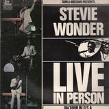 Live In Person - At London's Talk Of The Town. - Stevie Wonder