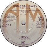 Come Sail Away / Put Me On - Styx
