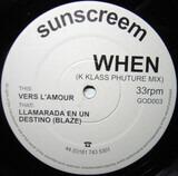 When (K Klass Phuture Mix) - Sunscreem