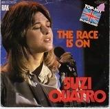 The Race Is On / Non Citizen - Suzi Quatro