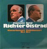 Glasunow: Klavierkonert Nr.1,  Szymanowsky: Violinkonzert Nr.1 - Svjatoslav Richter, David Oistrach