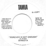 Forever Is Not Enough - Syreeta