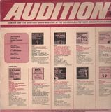 Audition: Summer 1966 - Szell, Mozart, Bach, De Falla,..