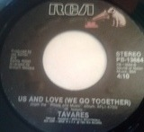 Words And Music / Us And Love (We Go Together) - Tavares