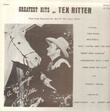 Greatest Hits By Tex Ritter - Tex Ritter