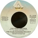 You Don't Believe - The Alan Parsons Project