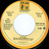 Rock And Roll Music / It's O.K. - The Beach Boys