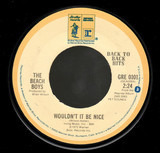 Wouldn't It Be Nice / Sloop John B - The Beach Boys