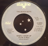 When I Grow Up (To Be A Man) / She Knows Me Too Well - The Beach Boys