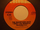 Someone's Looking At You / I Don't Like Mondays (recorded live) - The Boomtown Rats