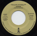 Video Killed The Radio Star / Eighteen With A Bullet - The Buggles / Pete Wingfield