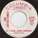 If I Live Long Enough - The Carter Family