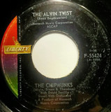 The Alvin Twist / I Wish I Could Speak French - The Chipmunks With David Seville