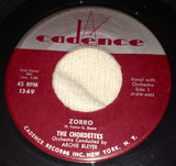 Zorro / Love Is A Two-Way Street - The Chordettes