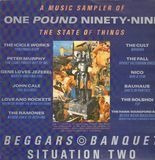 One Pound Ninety-Nine - A Music Sampler Of The State Of Things - The Cult, Bauhaus, The Ramones, Nico a.o.