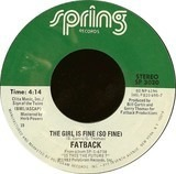 The Girl Is Fine (So Fine) - The Fatback Band