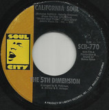 California Soul / It'll Never Be The Same Again - The Fifth Dimension