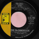 The Girls' Song / It'll Never Be The Same Again - The Fifth Dimension