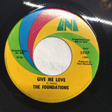 In The Bad, Bad Old Days / Give Me Love - The Foundations