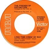 Let Me Be / Long Time Comin' My Way - The Friends Of Distinction