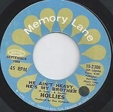He Ain't Heavy, He's My Brother / Carrie Anne - The Hollies