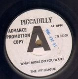 What More Do You Want - The Ivy League