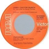 Paradise / The First Time Ever I Saw Your Face - The Jimmy Castor Bunch