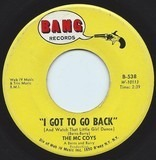 I Got To Go Back (And Watch That Little Girl Dance) - The McCoys