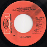 With This Ring / Washed Ashore (On A Lonely Island In The Sea) - The Platters