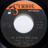 She Blew A Good Thing / Out To Lunch - The Poets