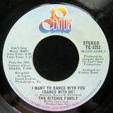 I Want To Dance With You (Dance With Me) / Lady Champagne - The Ritchie Family