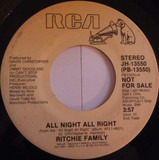 All Night All Right - The Ritchie Family