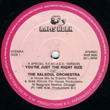 You're Just The Right Size (A Special R.E.M.I.X.E.D. Version) / Run Away - The Salsoul Orchestra