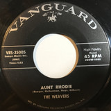 Aunt Rhodie - The Weavers
