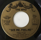 See Me, Feel Me / Overture From Tommy - The Who