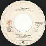 You Better You Bet - The Who