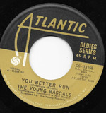 You Better Run / It's Wonderful - The Young Rascals