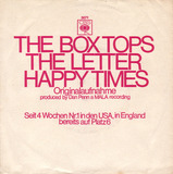 The Letter / Happy Times - Box Tops
