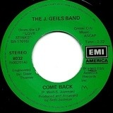 Come Back / Takin' You Down - The J. Geils Band