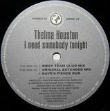 I Need Somebody Tonight (Original Mixes) - Thelma Houston