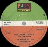 Who, What, When, Where, Why - The Manhattan Transfer