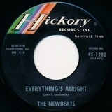Everything's Alright / Pink Dally Rue - The Newbeats