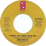 I Want You Here With Me / Get On Out And Party - The O'Jays