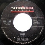 Devri / Alone In The Night (Without You) - The Platters