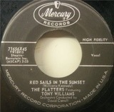 Red Sails In The Sunset / Sad River - The Platters